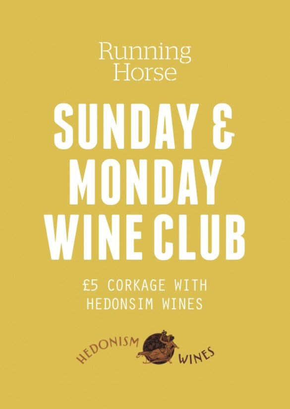 £5 CORKAGE WITH HEDONISM WINES